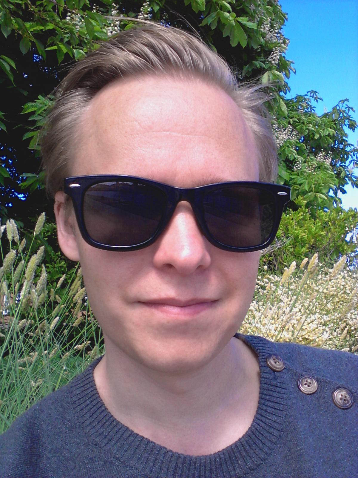 Composer Simon Berggården 2014
