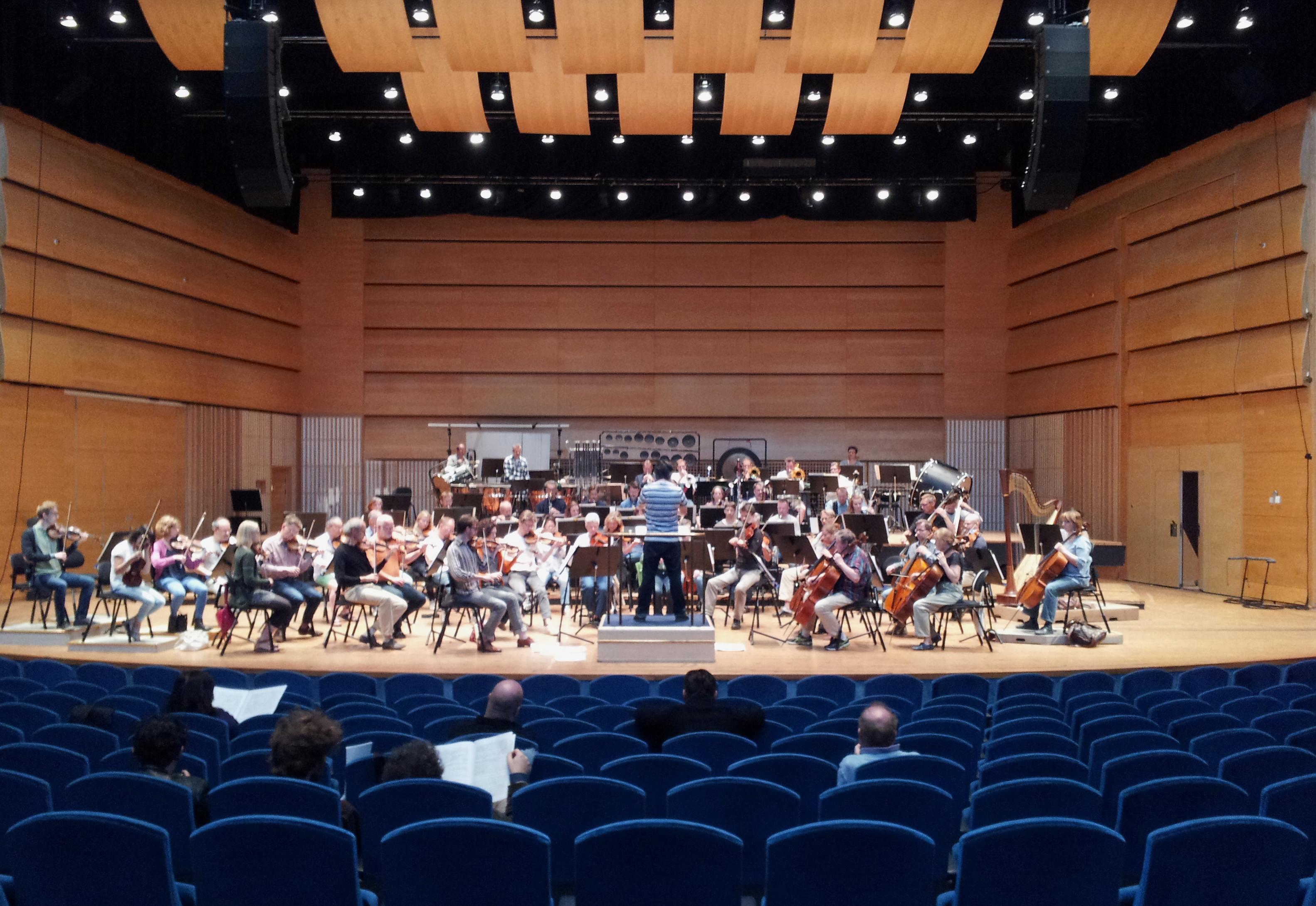 Simon Berggården Hybrid Plastic Minds 2014 Norrköping Symphony Orchestra. ConductorMichael Bartosch.